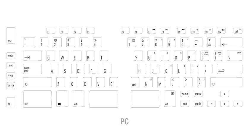 Ergo Pro layout schematic