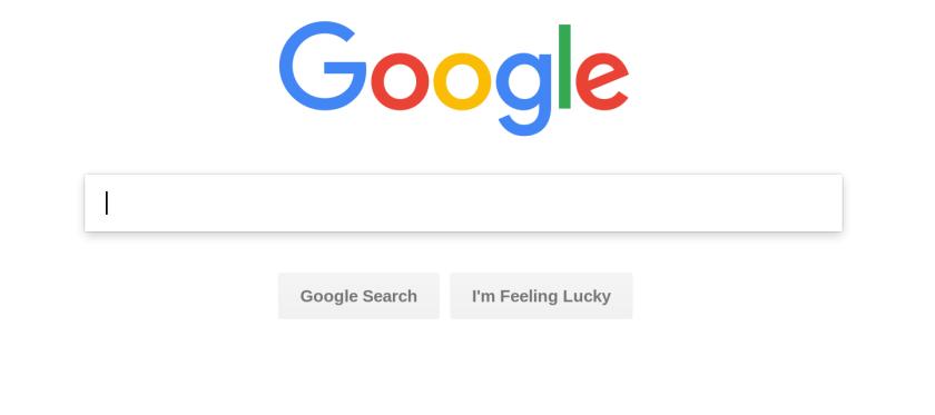 Google's homepage